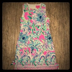 In the Groove Mila Shift Dress Lilly Pulitzer Sz 4